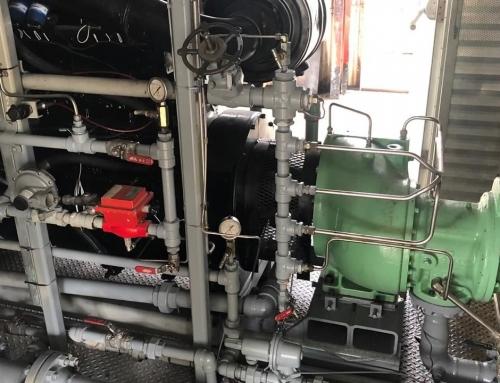 LINEA INDUSTRIAL – Reparación de compresor de tornillo