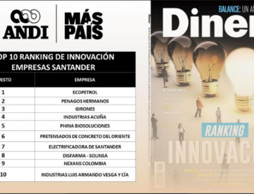 Industrias LAVCO en el TOP 10 de la innovación del departamento de Santander