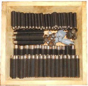 Fabricación de roscas y tornillería del cilindro Nuevo Pignone