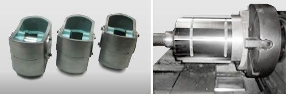 Reparaciones abarcan desde crucetas de compresor, culatas de motores, ejes, cojinetes, bielas de motor, pivote de turbina