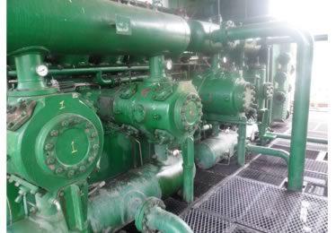 Reparaciones de cilindros motrices y compresores reciprocantes en campo