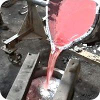 Fundición de aluminio no aleado y aleado