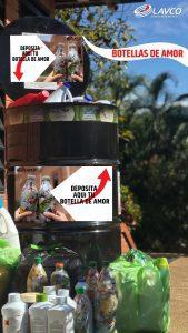 Acopio Botellas de amor Bucaramanga LAVCO