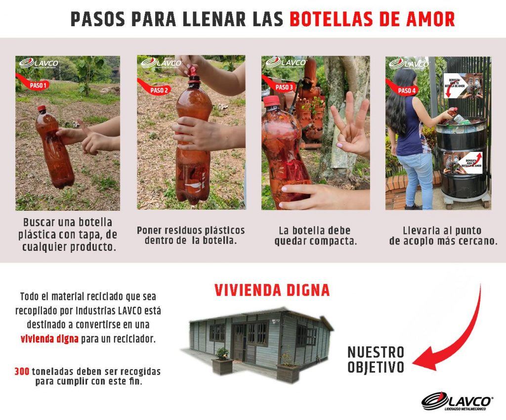 Botellas de amor Bucaramanga