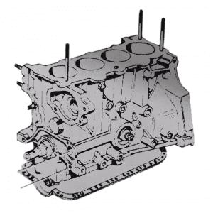 Motores con bloques de cilindros